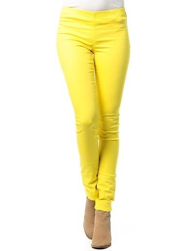 Vero Moda Pantolon Sarı